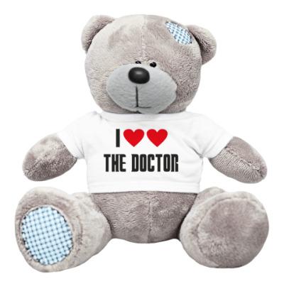 Плюшевый мишка Тедди I LOVE THE DOCTOR