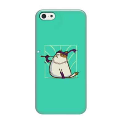Чехол для iPhone 5/5s Кэтсби — Пятничный Котик №33