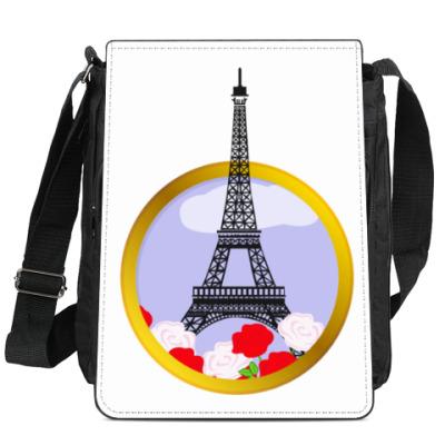 Сумка-планшет Эйфелева башня