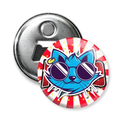 Магнит-открывашка Cool Cat