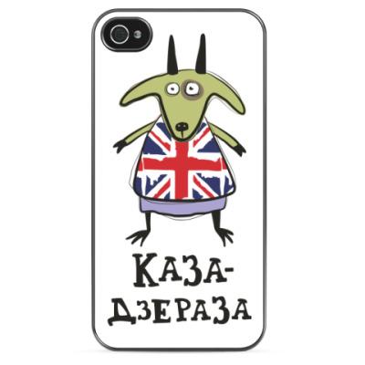 Чехол для iPhone Прикольная коза