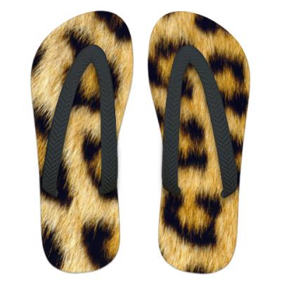 Шлепанцы (сланцы)  Leopard