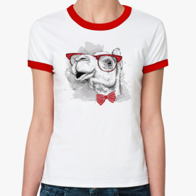 Женская футболка Ringer-T Верблюд