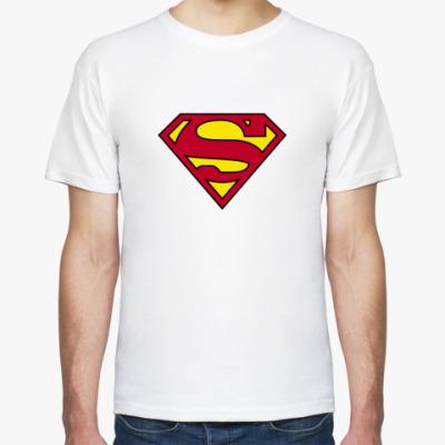 Футболка  футболка супермен