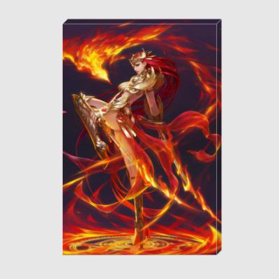 Холст богиня огня