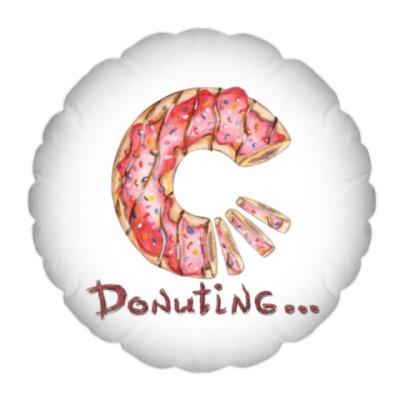 сладкая иллюстрация с пончиком