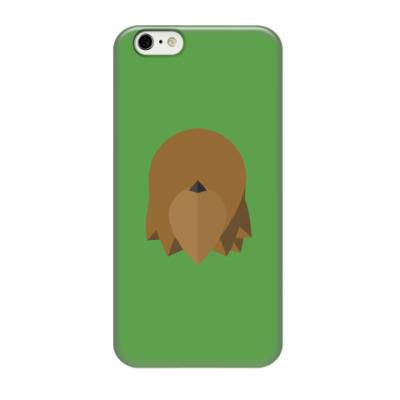 Чехол для iPhone 6/6s Чубакка (Chewbacca) Минимализм