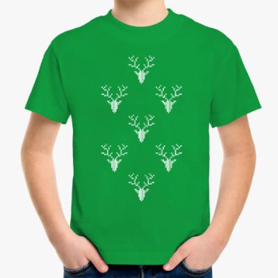 Детская футболка Олени