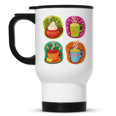 Кружка-термос Кофе-чай