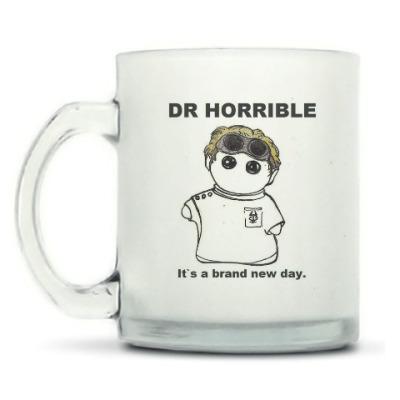 Кружка матовая Dr Horrible ( Neil Patrick Harris )