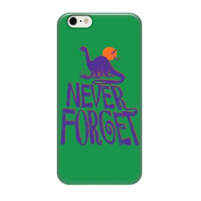 Чехол для iPhone 6/6s Помни динозавров