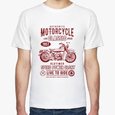 Футболка Authentic Motorcycle Classic Biker
