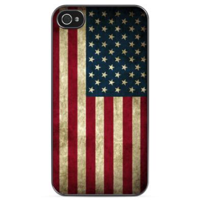 Чехол для iPhone Флаг США