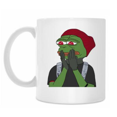 Кружка Hipster Pepe