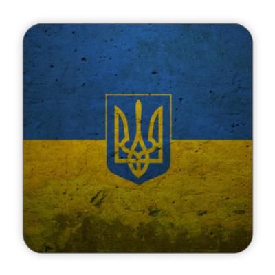 Костер (подставка под кружку) Украина