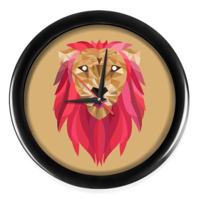 Настенные часы Лев / Lion