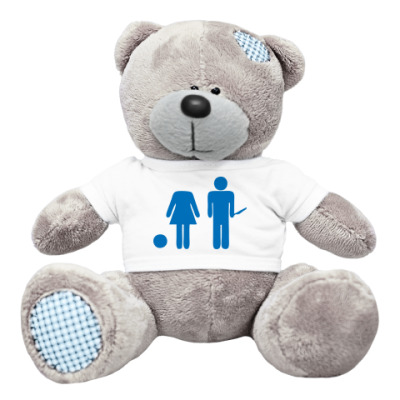 Плюшевый мишка Тедди Strange Love