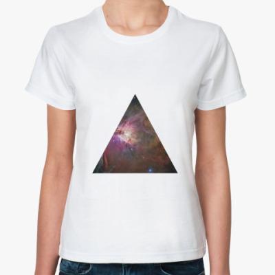 Классическая футболка Космос