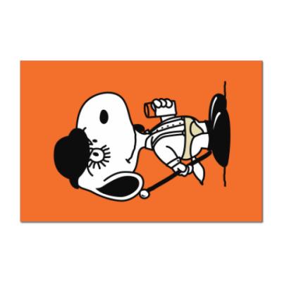 Наклейка (стикер) Snoopy Clockwork Orange