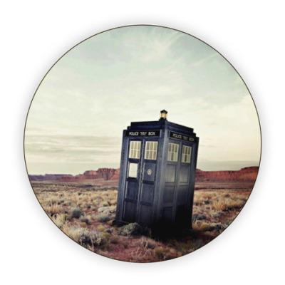 Костер (подставка под кружку) TARDIS In The Desert