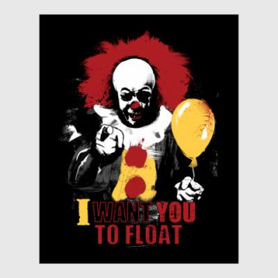 Постер Clown It by Stephen King
