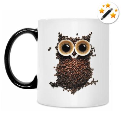 Кружка-хамелеон Кружка кофемана-полуночника