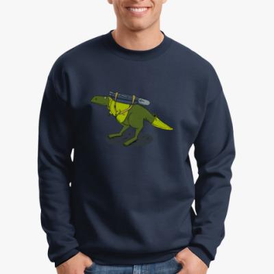 Свитшот Тираннозавр-путешественник
