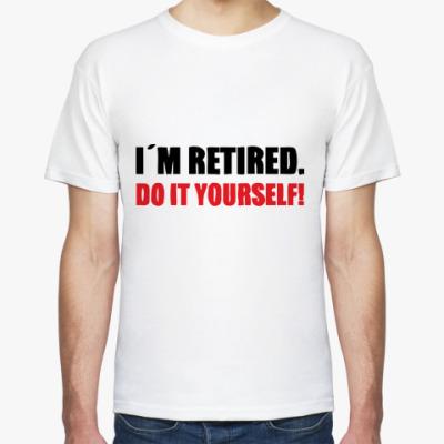 Футболка I'm retired
