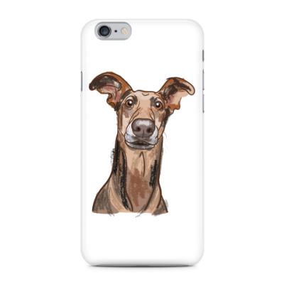Чехол для iPhone Пёс