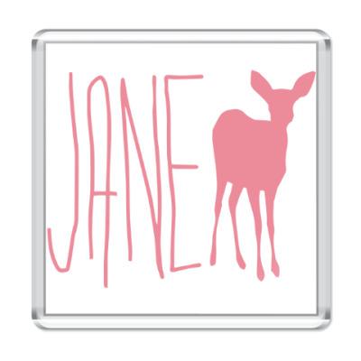 Магнит JANE DOE
