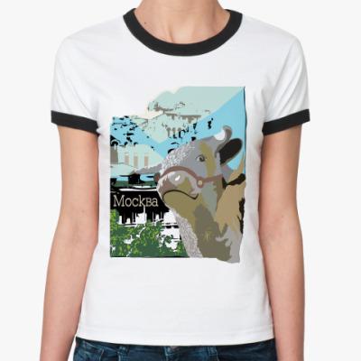 Женская футболка Ringer-T Большая деревня