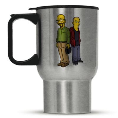 Кружка-термос Breaking Bad Simpsons