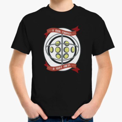 Детская футболка BioShock A man chooses