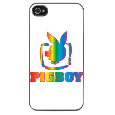 Чехол для iPhone PIGBOY [Rainbow]