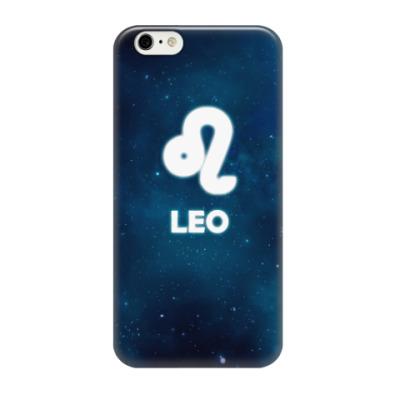 Чехол для iPhone 6/6s Знак зодиака. Лев