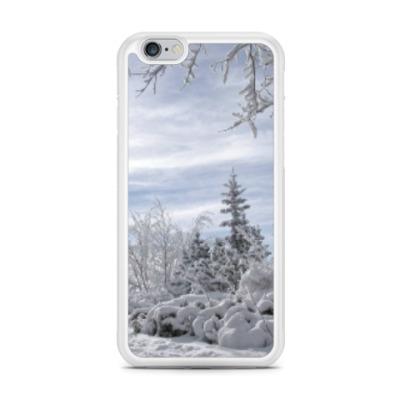Чехол для iPhone зимний пейзаж