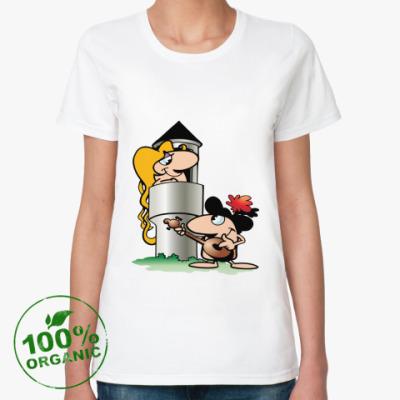 Женская футболка из органик-хлопка Влюбленные