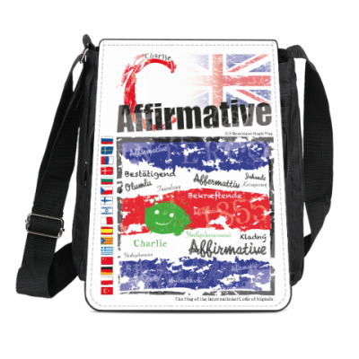 Сумка-планшет Морской флаг «Charlie»