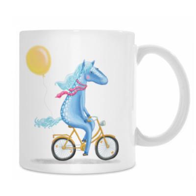 Лошадка на велосипеде