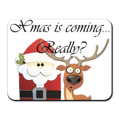 Коврик для мыши Рождество наступает