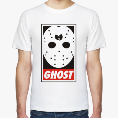 Футболка  Ghost Wu tang