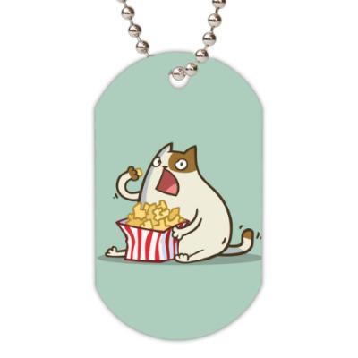 Жетон dog-tag Пятничный Котик №5