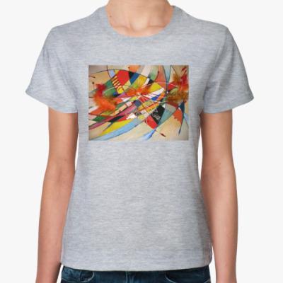 Женская футболка  'Арлекино'
