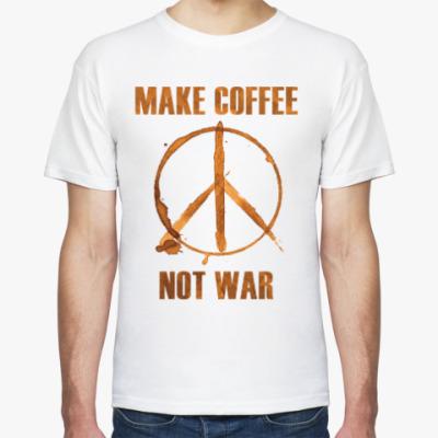 Футболка Make Coffee Not War