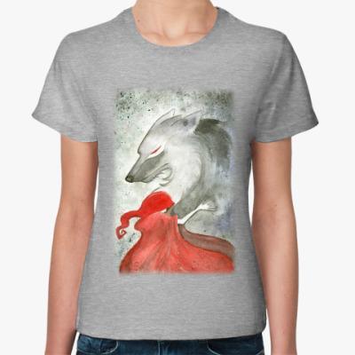 Женская футболка Красная шапочка