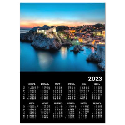 Календарь Дубровник