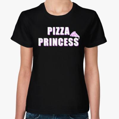 Женская футболка PIZZA PRINCESS