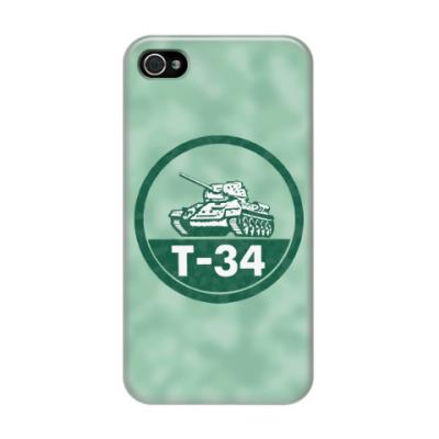 Чехол для iPhone 4/4s Танк Т-34