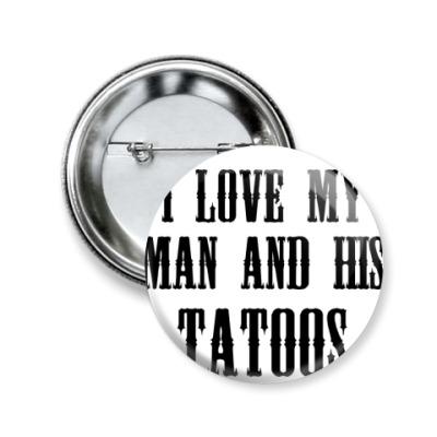 Значок 50мм 'Tattoos'