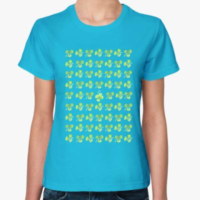 Женская футболка Lucky Clover